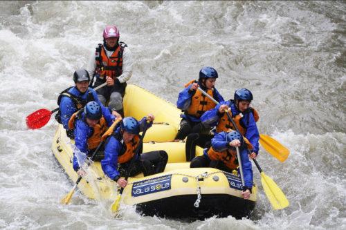 Corso di Rafting