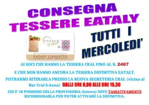 Tessere Eataly