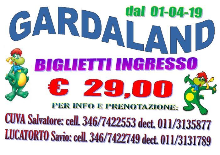 Vendita biglietti Gardaland