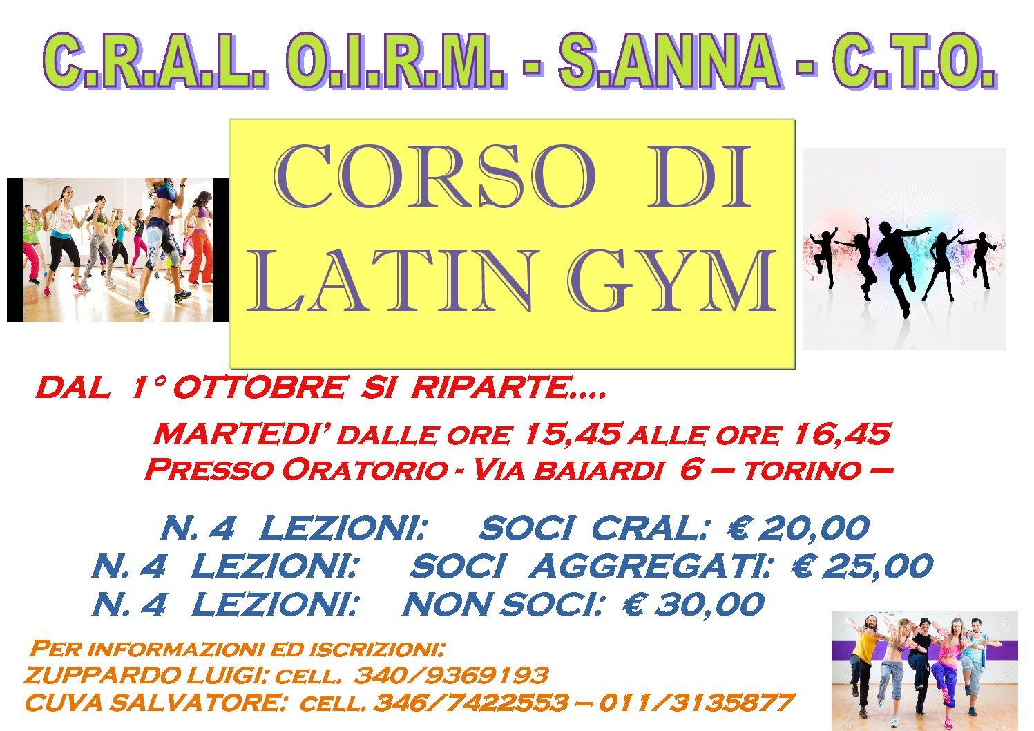 Corso di Latin Gym